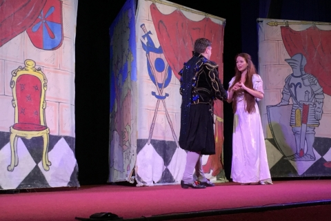 Divadlo - Princezna se zlatou hvězdou na čele