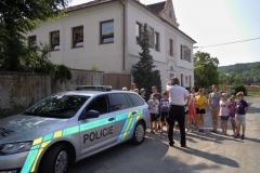 Návštěva Policie ČR