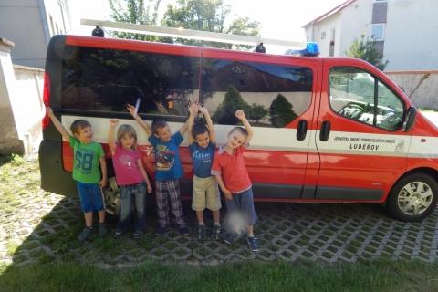 Návštěva předškoláků v ZŠ - 22. 6. 2016