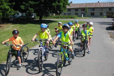 Předškoláci na kole