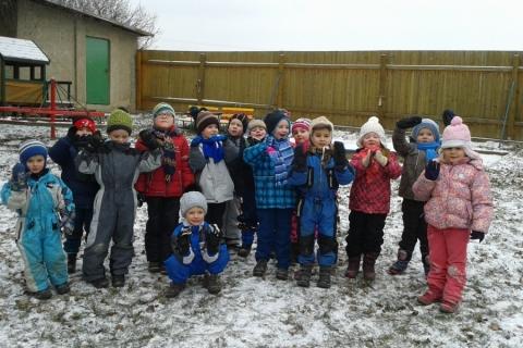 Zimní radovánky - kluziště v Ludéřově, dětské hřiště v Kníničkách, bobování
