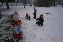 Zima u nás v MŠ